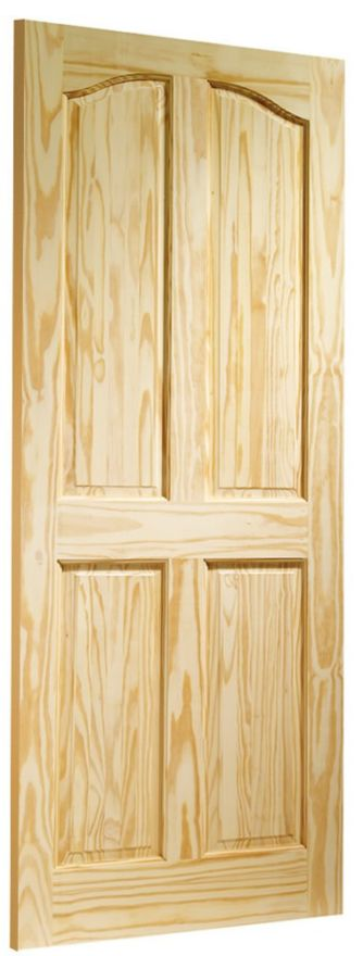 Rio 4-Panel Clear Pine Internal Door