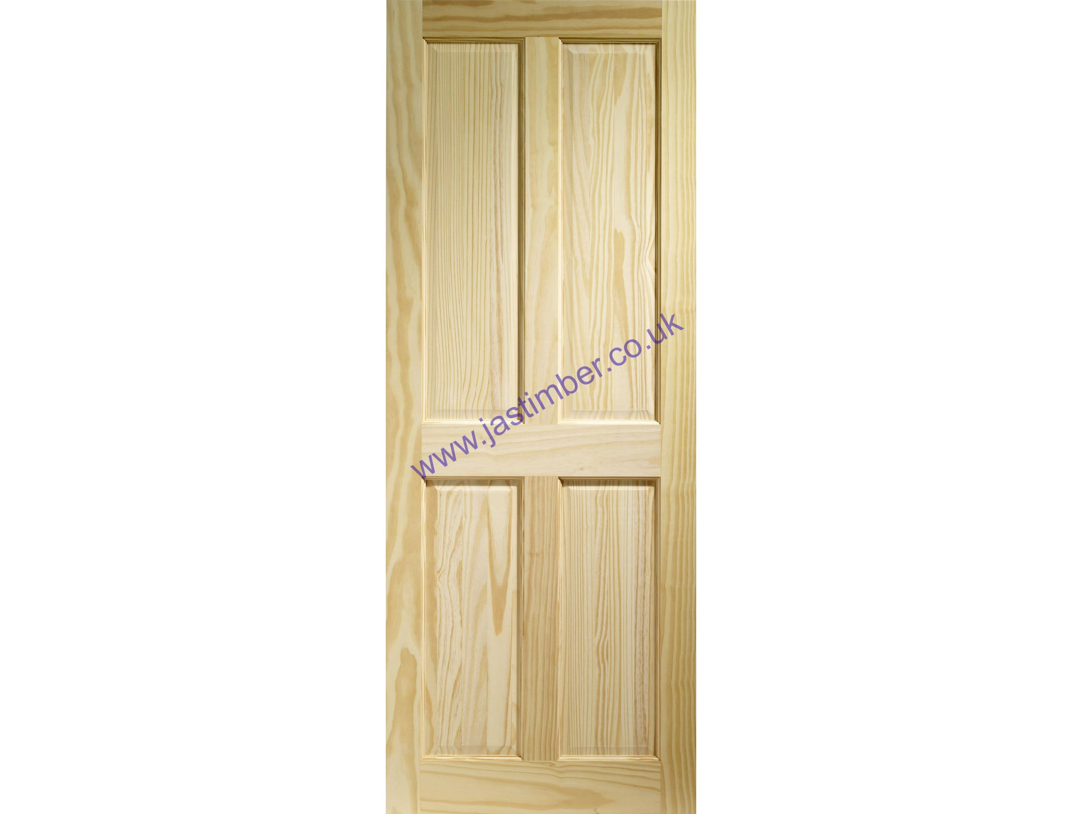 XL Clear Pine Victorian 4 Panel Door - Offer
