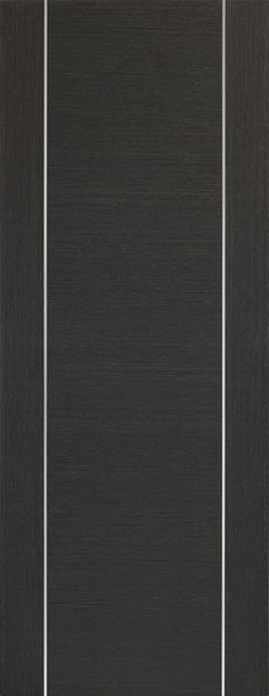 Forli Door: Architectural Flush *Pre-Finished Dark Grey* 35mm Internal Door - XL Doors