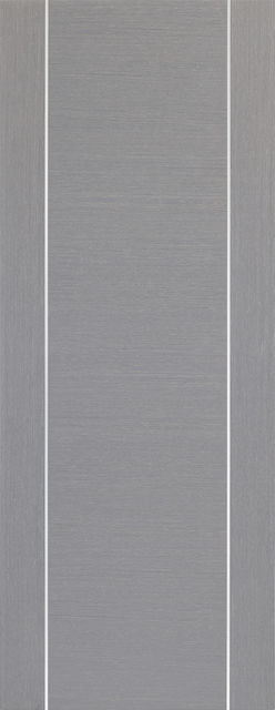 Forli Door: Architectural Flush *Pre-Finished Light Grey* 35mm Internal Door - XL Doors