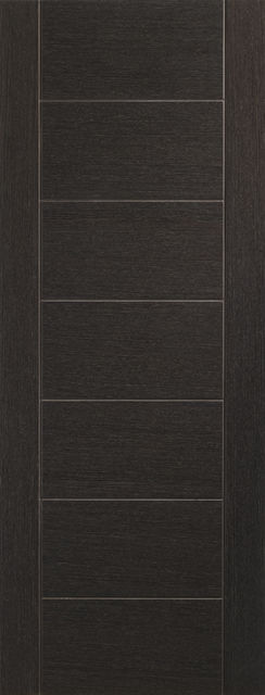 Palermo Door: Architectural Flush *Pre-Finished Dark Grey* 35mm Internal Door - XL Doors
