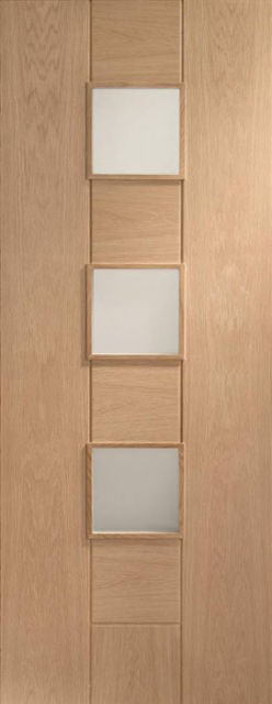 Messina Glazed Oak Internal Door