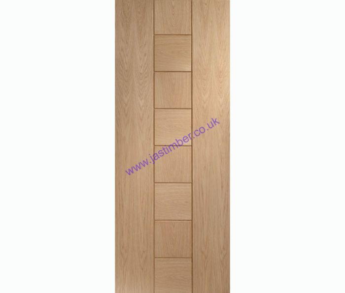Messina Flush Oak Internal Door