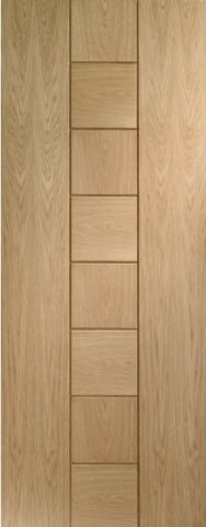 Messina Door: Architectural Flush *Oak* 35mm Internal - XL Doors