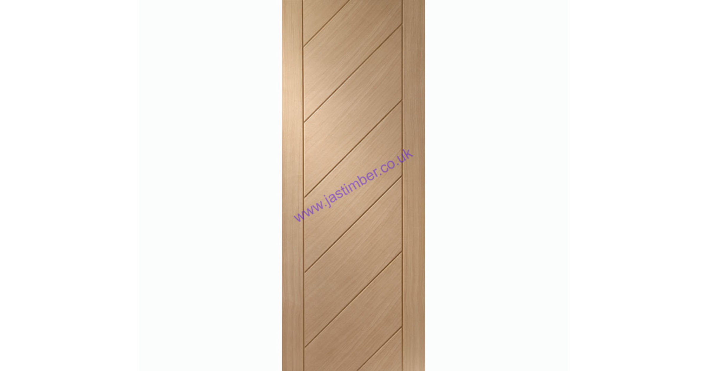 Monza Flush Oak Internal Door