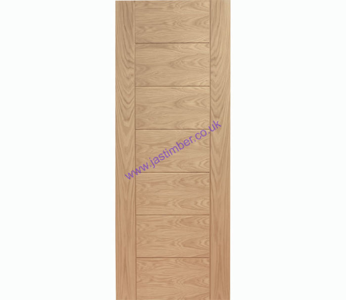Palermo Flush Oak Internal Door