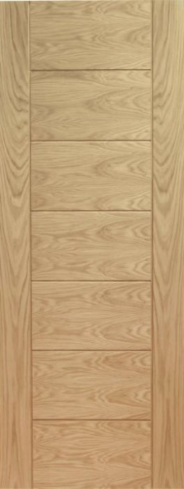 XL Palermo 7P Oak Door