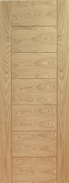 Palermo Door: Architectural V-Groove *Pre-Finished Oak* 35mm & 40mm Internal - XL Joinery