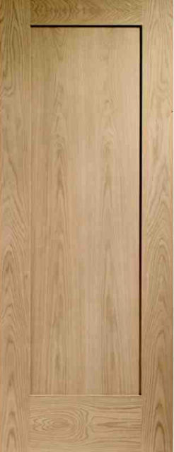 Pattern 10 Fire Door: FD30 1-Panel *Oak* 44mm Internal Fire Door - XL Doors