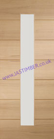 Savona 1-light Glazed Oak Internal Door