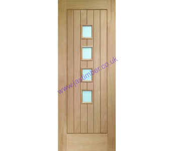 Contemporary Suffolk Door - XL Oak Doors
