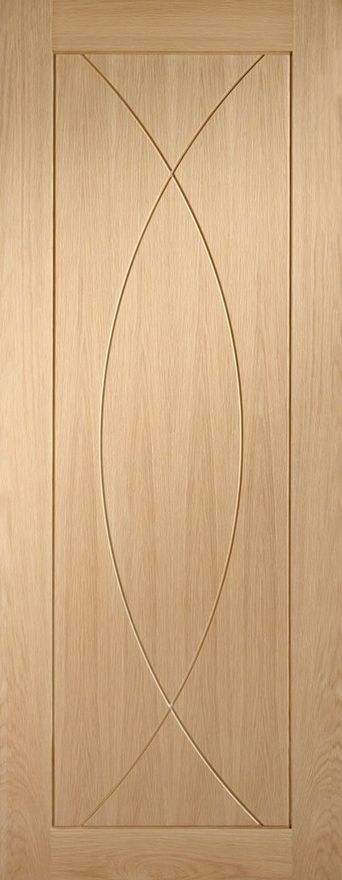 Pesaro V-Groove Oak Internal Door