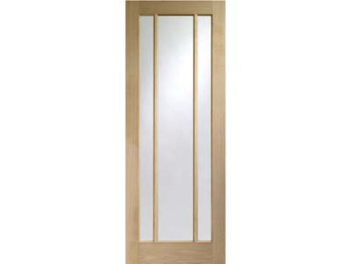 Worcester 3-light Glazed Oak Door - XL April Offer