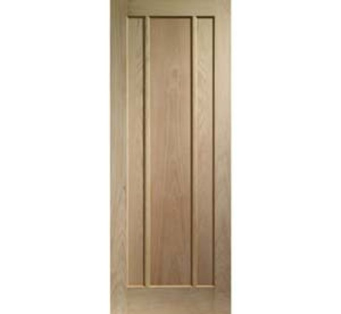 Worcester 3-panel Oak Internal Door - XL offer