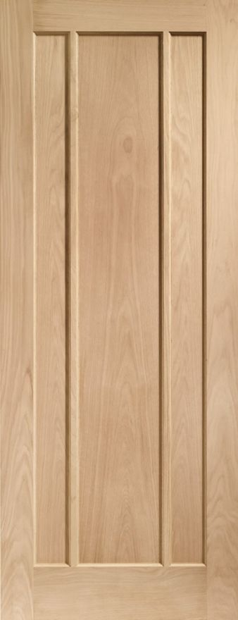 Worcester 3-Panel Oak Door
