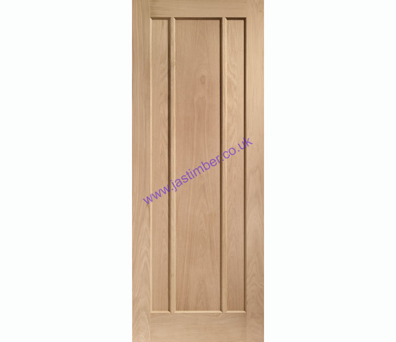 Worcester 3-Panel Oak Internal Door