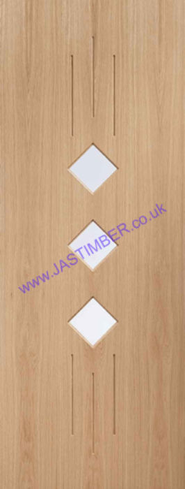 Taranto Glazed Pre-Finished Oak Door