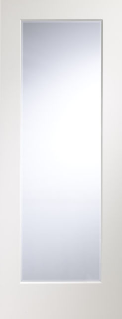 Cesena Glazed Door: 1-light *Clear Glass* Pre-Finished White 35mm Internal XL Doors