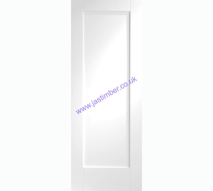 Pattern 10 1-Panel White Primed Internal Door
