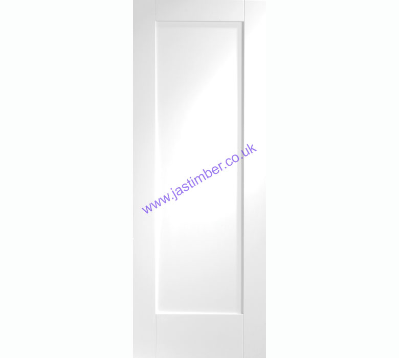 Pattern 10 1-Panel White Primed Internal Door - XL Joinery