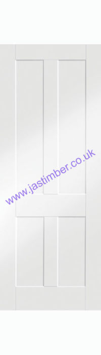 Victorian Shaker White Primed Door