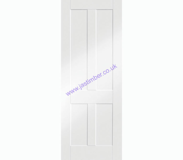 Victorian Shaker 4-Panel White Primed Internal Door