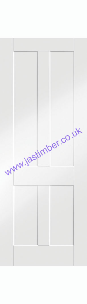 Victorian Shaker White Primed Internal Door - XL Joinery