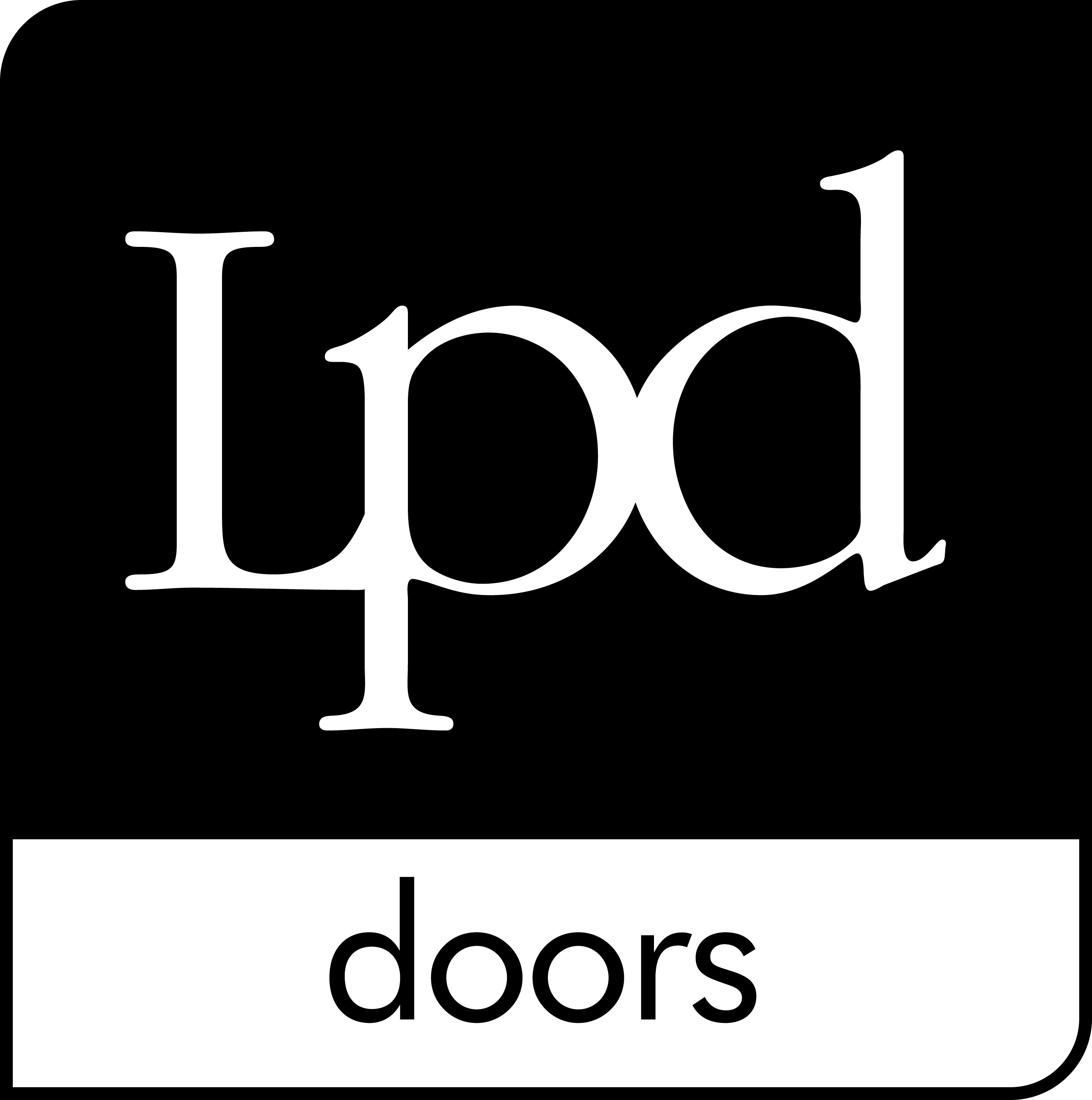 LPD - Blue Logo. Timber room dividers