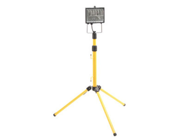 Site Light Floodlight on Stand 500W