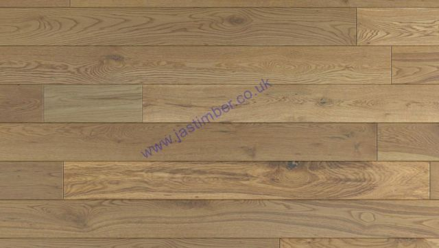 OAK Solid WOOD FLOORING 120x18mm Rustic French Oak CCML 2.112m2 - LACQUERED