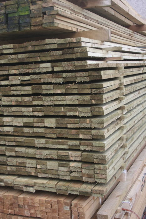 3x1 Treated Rough Sawn Softwood Fencing Timber IMG 3068