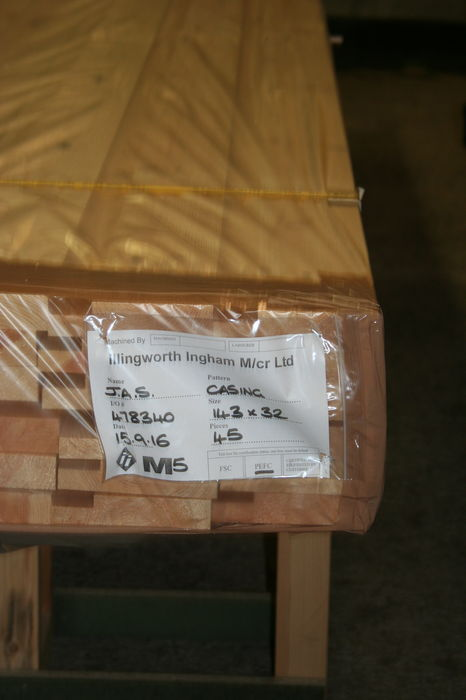 6 inch Softwood Internal Door Casing Sets. Img 9485
