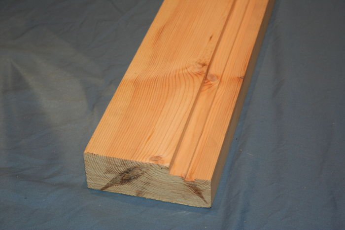 Softwood Grooved Firecheck Door Casing Length; Image 1755