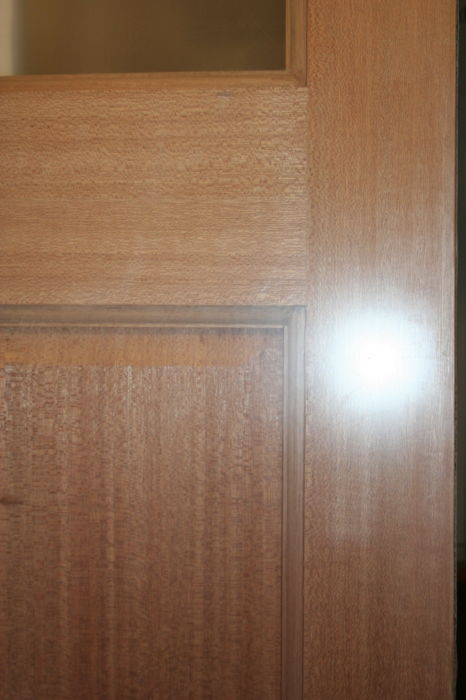 Ovolo Beaded Hardwood Door-Panel 8291