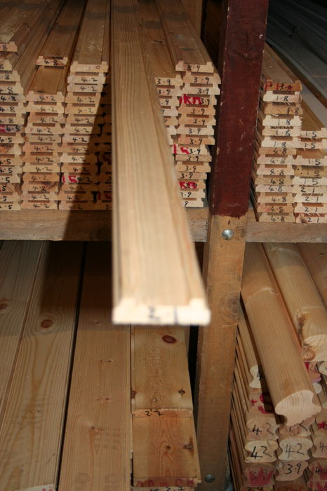 3x1 Pine Stair Baserail - 2.1 metre selected; Image 6562