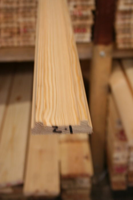 75mm Pine Baserail - 41mm groove for Stair Spindles: Image 6564