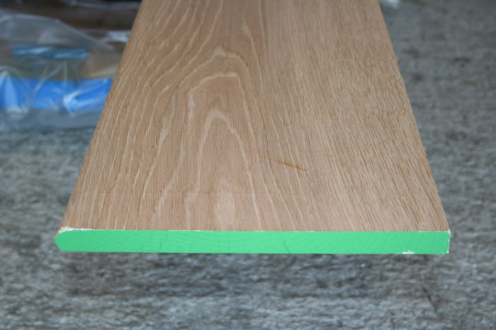 300mm Nosed Oak Window Board; Image 9094