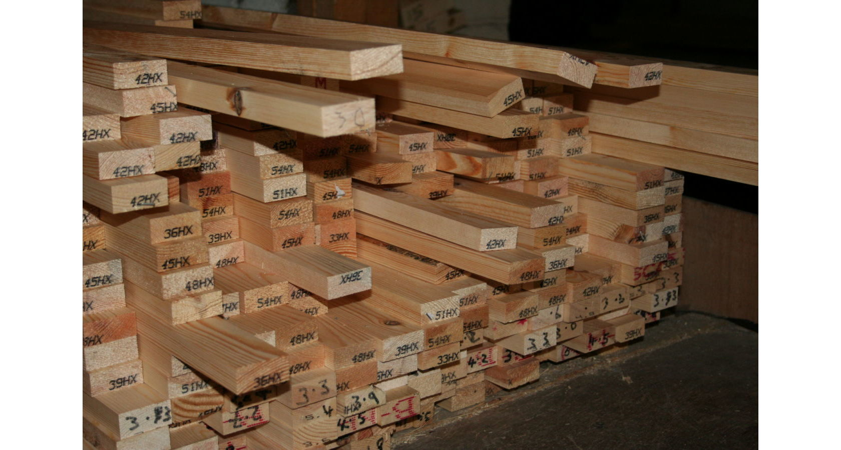 2x1 Planed Softwood - in the rack; Image 1500