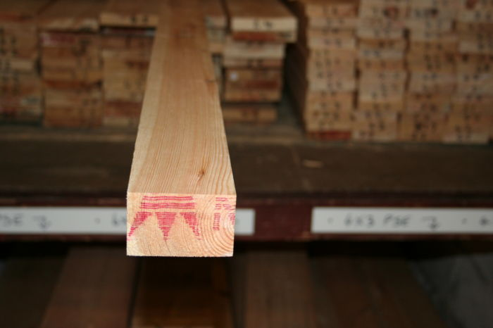 3x2 Scandinavian Planed Softwood - length; Image 7318