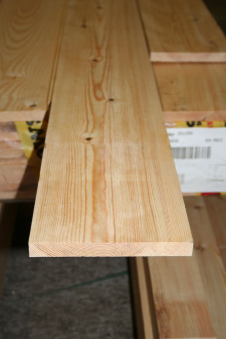 9x1 Planed Softwood Pine - new pack; Image 9148