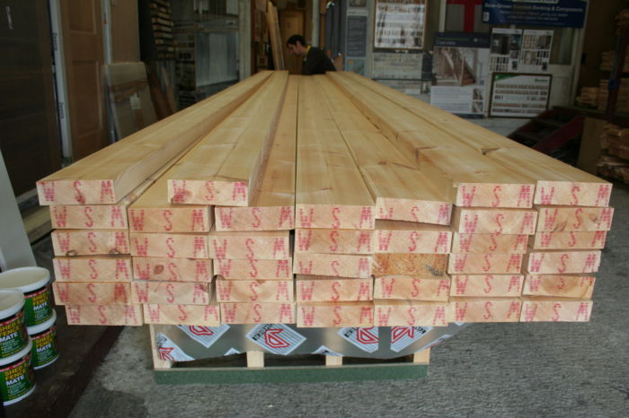 9x3 Joinery Quality Sawn Redwood; Image 9449