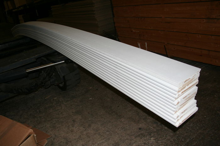 IMG 7486 170mm x 18mm White Primed MDF Skirting