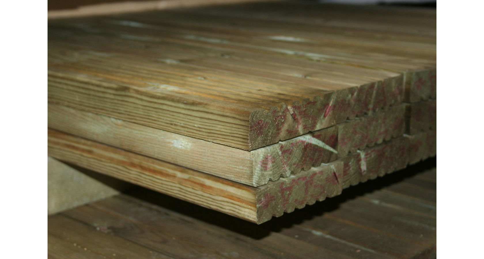 Treated Timber Decking; IMG 3052
