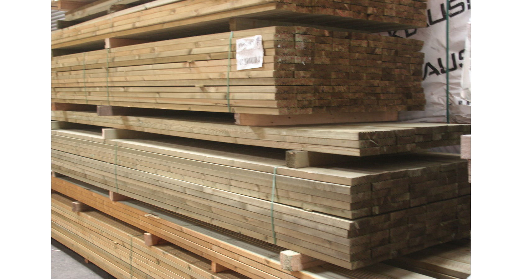 Treated Decking -Full packs; Image 3049