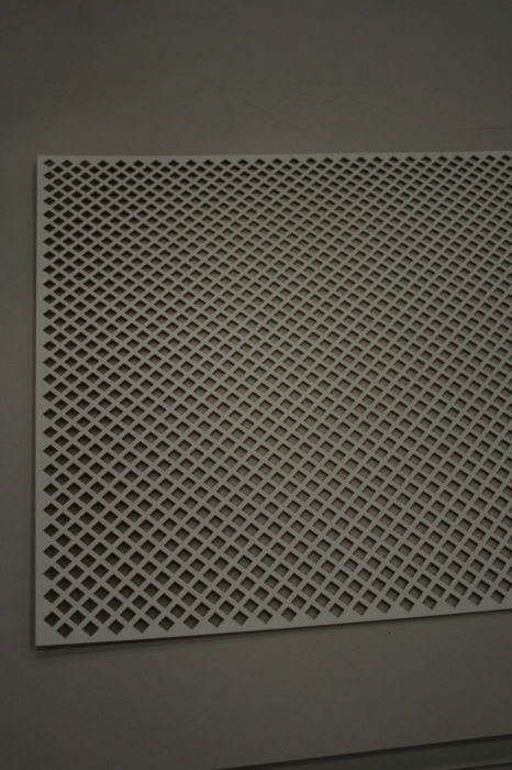 IMG 7747 Diamond Pattern MDF Radiator Screen;