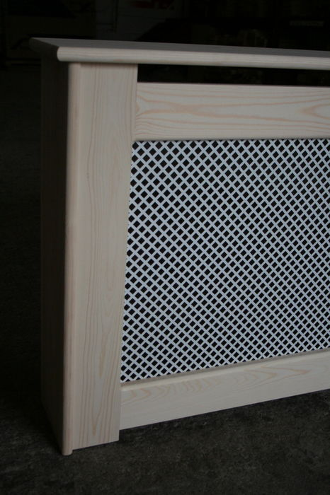 IMG 7752 Radiator Cabinet Softwood with MDF Screen