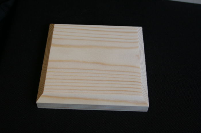 IMG 8103 Square Softwood Post Cap - 75x75mm