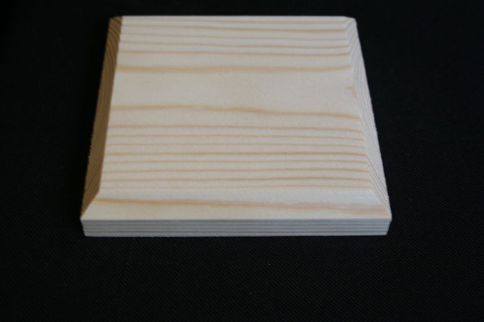 "IMG 8107 4"" Square Softwood Post Cap - 100x100mm size;"