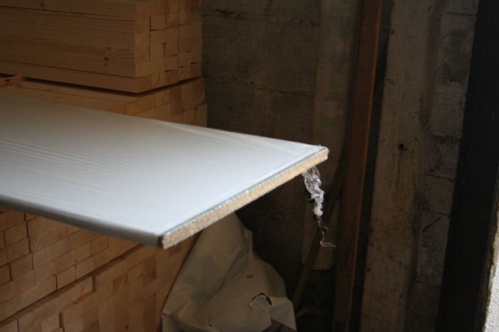 White 22mm Bedroom Worksurface; Image 7778