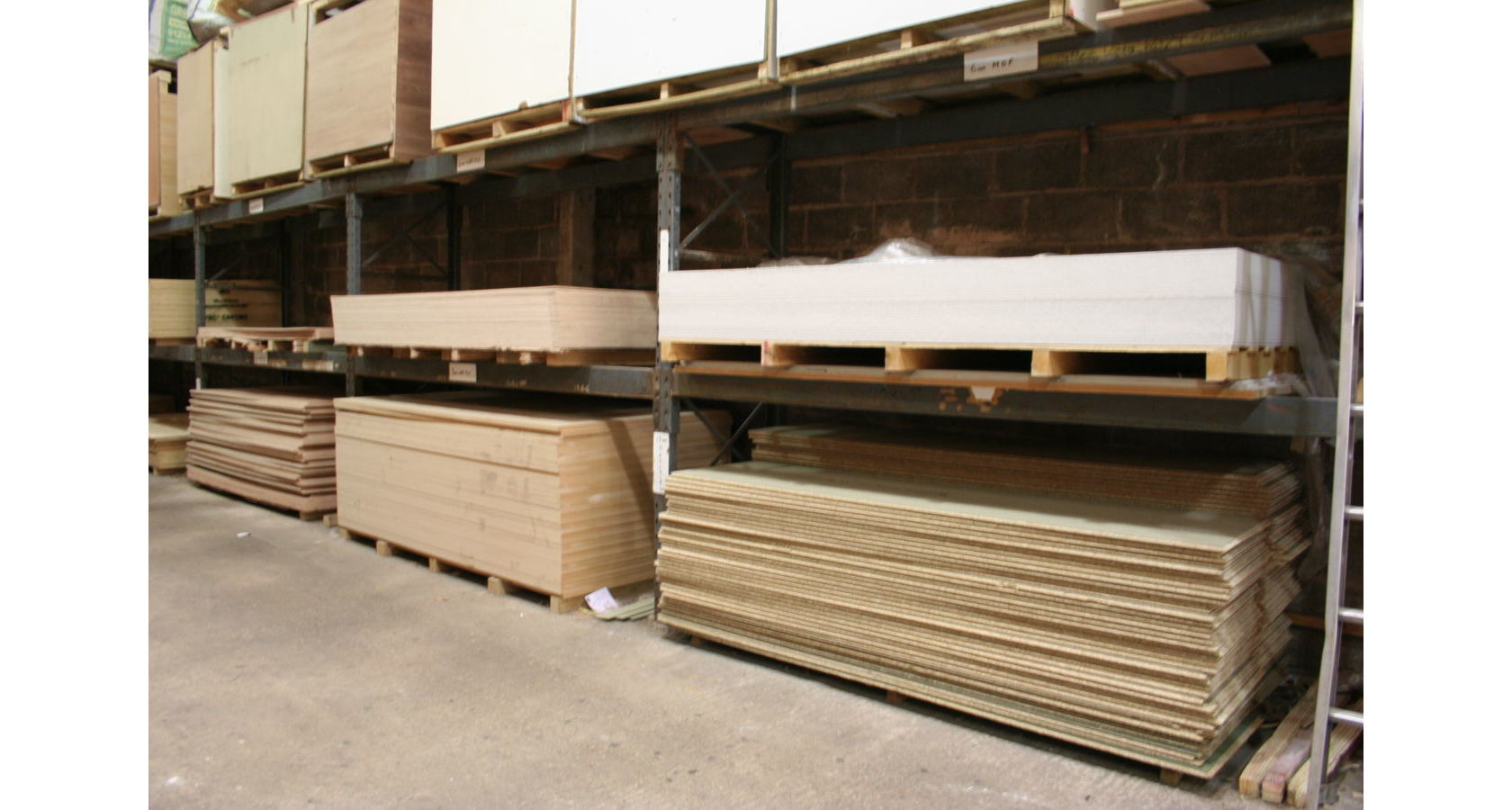 Fermacell & Chipboard Racks; Image 9433